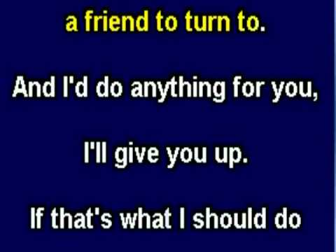 Gloria Estefan - Anything For You (karaoke) video