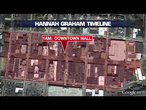 WATCH: Timeline and map showing distance Hannah Graham covered