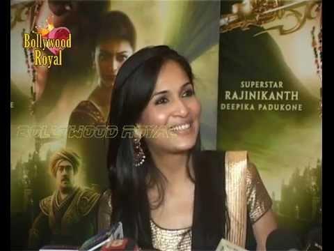 Rajnikanth, Amitabh Bachchan & others at the Hindi curtain raiser  of the film 'Kochadaiiyaan' 2