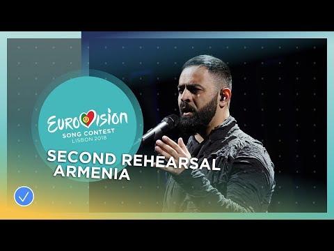 Sevak Khanagyan - Qami - Exclusive Rehearsal Clip - Armenia - Eurovision 2018