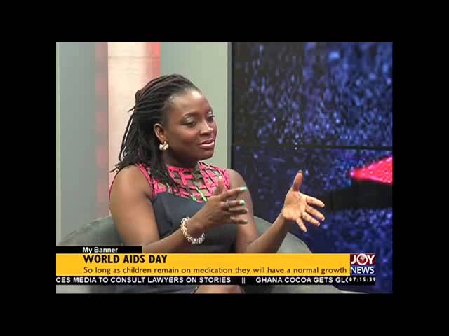 World Aids day - My Banner on Joy News (01-12-15)
