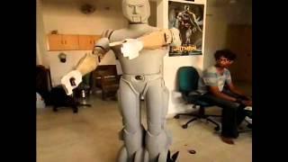 Mugamoodi - Humanoid Robot ~ 6 Feet ~ Mugamoodi (Tamil) / Mask(Telugu) Movie ~ imakerobots.com