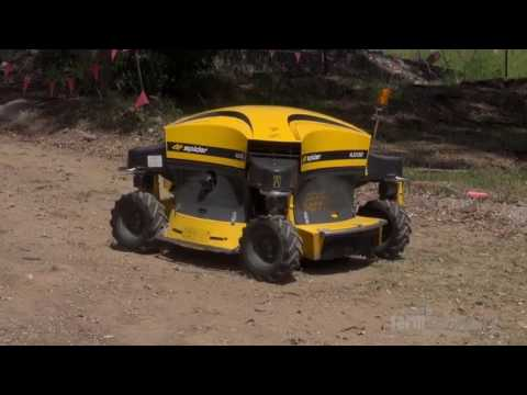 REVIEW Spider ILD 02 remote controlled slope mower