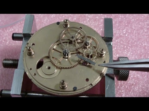 How I assemble a pocket watch, Illinois Watch Co., Currier