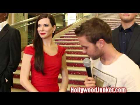 Madame Tussauds Hollywood Unveils SANDRA BULLOCK!