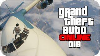 GTA ONLINE - #19: Fazendo um looping EM CIMA do Cargo Plane