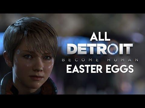 All Detroit: Become Human Easter Eggs & Secrets