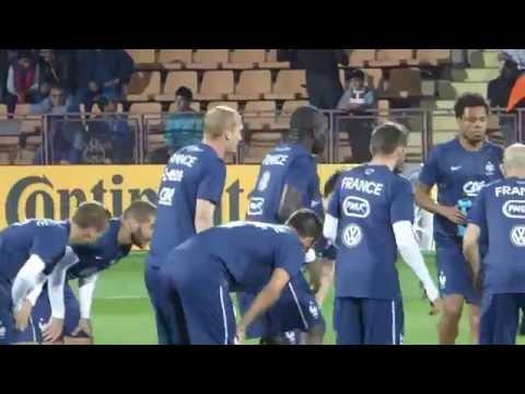 Antoine Griezmann ● Karim Benzema ● Patrice Evra ● André Pierre Gignac