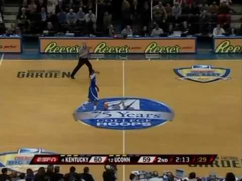 Kentucky v. Connecticut - 2009 Dec. 9 - Last 6 Minutes