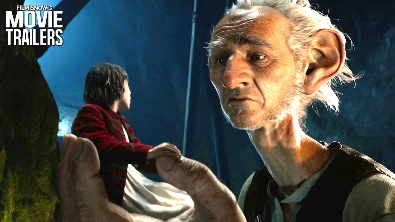 Even the smallest can be brave in the NEW trailer for Steven Spielberg's BFG