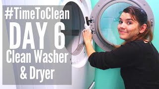 DAY 6 CLEANING SCHEDULE // #TIMETOCLEAN CHALLENGE // SPEED CLEANING ROUTINE