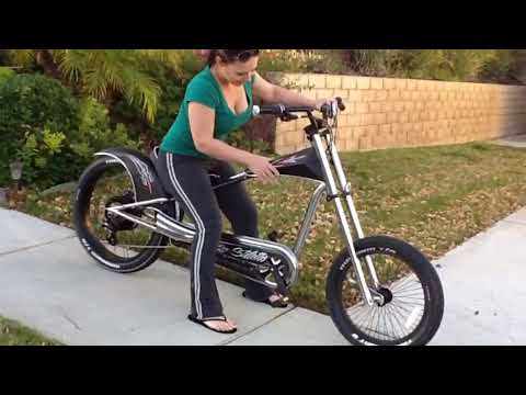 Stiletto Chopper eBike initial Test Ride - HD