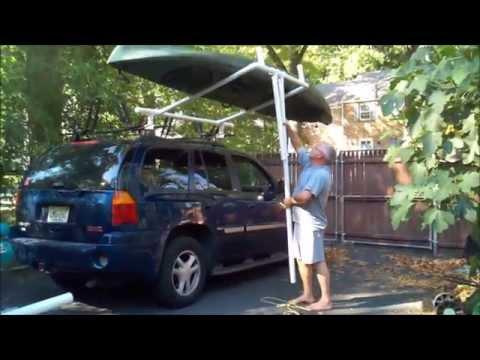 Homemade kayak loader