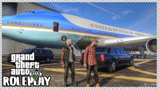 GTA 5 Roleplay - Hilarious President Trump Air Force One Tour | RedlineRP #61