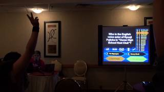 PortConMaine 2014 - Who Wants to be a Millionaire? Anime Style!