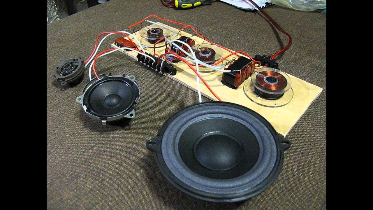 Как сделать акустику для динамиков 94