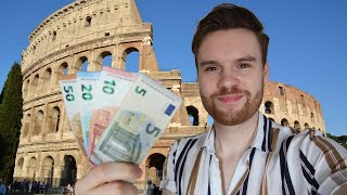 How Expensive Is Rome, Italy? A Day of Travel Spending 🇮🇹