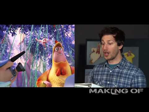 'Cloudy with a Chance of Meatballs 2' ADR Side by Side