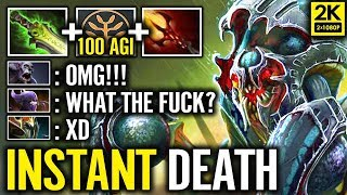 LOL?! Nyx +100 Agility Talent + Ghost Scepter lv 2 - New Combo Nyx Instant Dead by Abed
