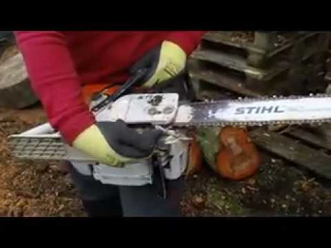 Safety Features of a Chainsaw