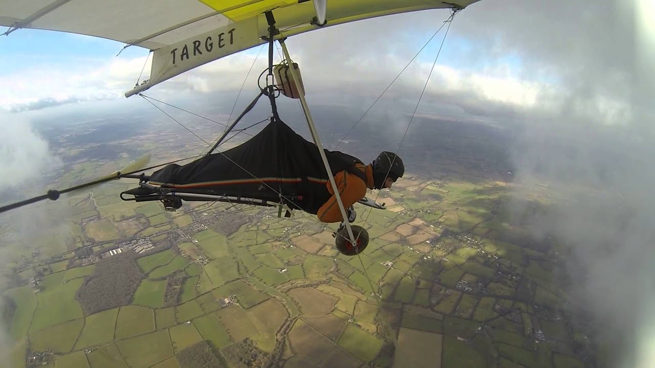 mosquito hang glider  south downs  flphg