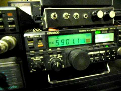 Satellite QSO via  VO-52  by JR2UXO
