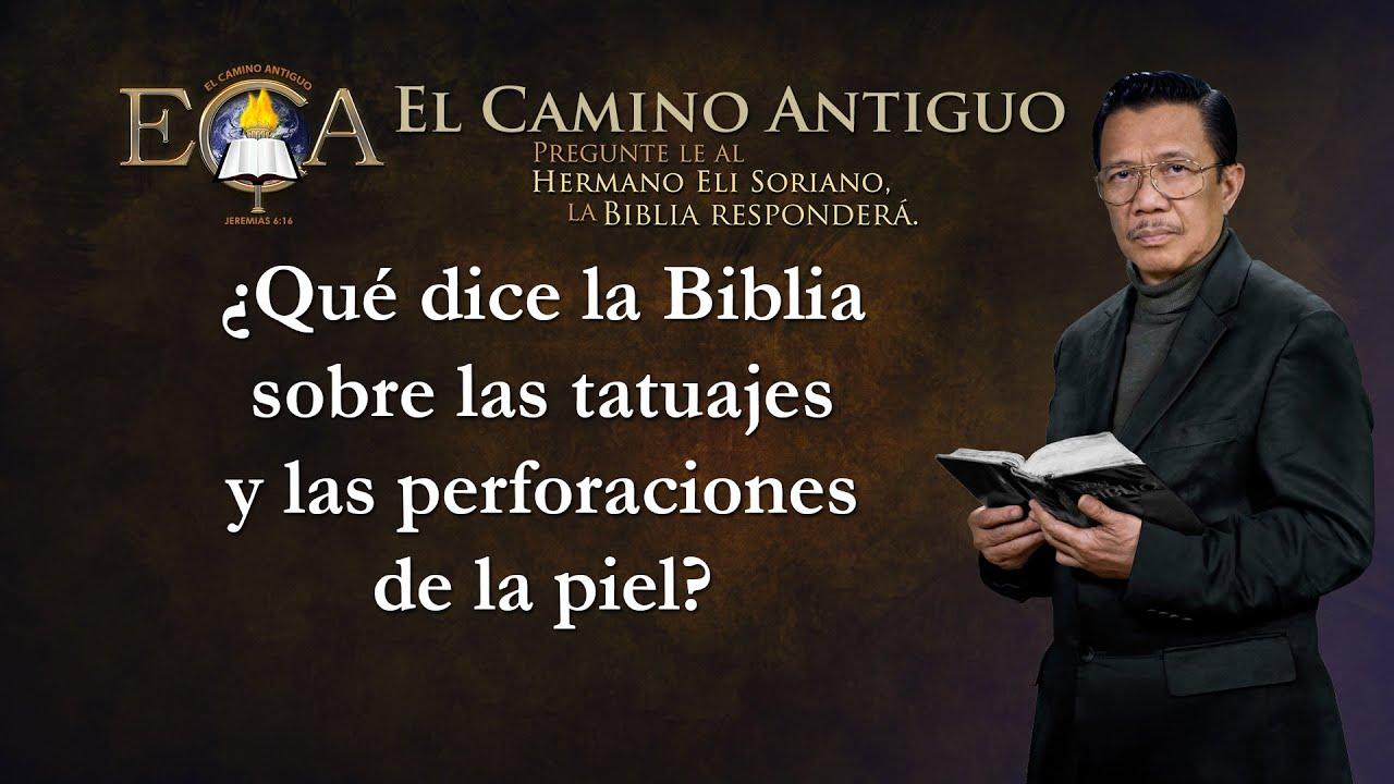 Tatuajes y la Biblia
