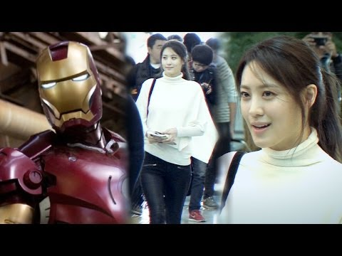 수현(Soo Hyun), '어벤져스2'(Avengers2) 런던 첫 촬영...아이언맨과 무슨 관계?