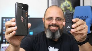 Detailed Unboxing @ASUS ROG (Republic Of Gamers) Gaming Phone & Quick Razer Phone 2 Comparison