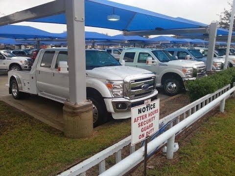 New 2014 Ford F550 and F350 Laredo Hauler Trucks TDY Sales 817-243-9840
