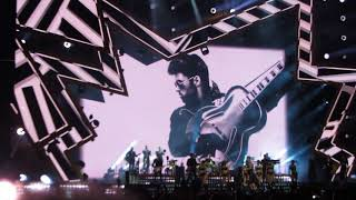 Robbie Williams tribute to George Michael - Freedom - Budapest - 23/08/2017