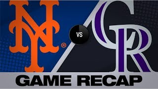 Bats, Stroman lift Mets to 6-1 win over Rox | Mets-Rockies Game Highlights 9/17/19