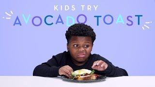 Kids try avocado..