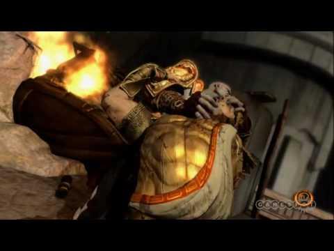 God Of War 3: Kratos vs. Helios battle