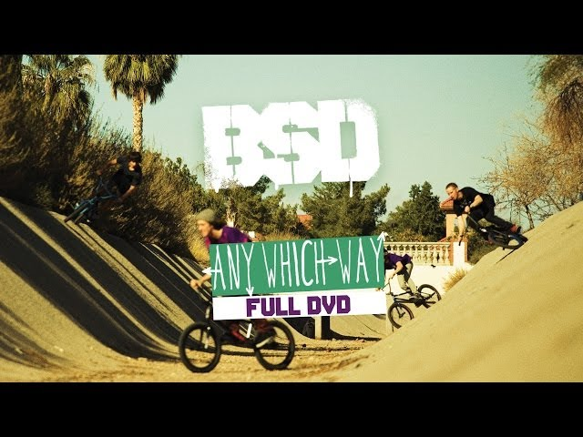 BSD 'Any Which Way' Full DVD