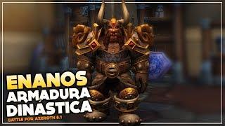 Armadura Dinástica de los Enanos | World of Warcraft