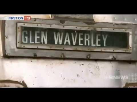 """Melbourne Farewells Old Train"" 12-4-14"