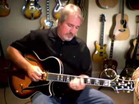 Guy Guerra Comments On The Conti Jazz Guitar