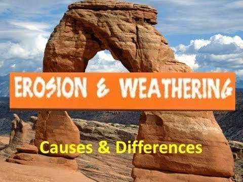 Erosion and weathering for kids causes and differences for What does the word soil mean