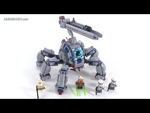 LEGO Star Wars Umbaran MHC Mobile Heavy Cannon review! set 75013
