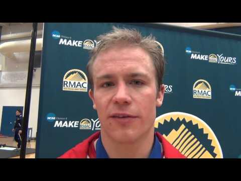 Austin Harris (Western State), 2016 RMAC 174 champion