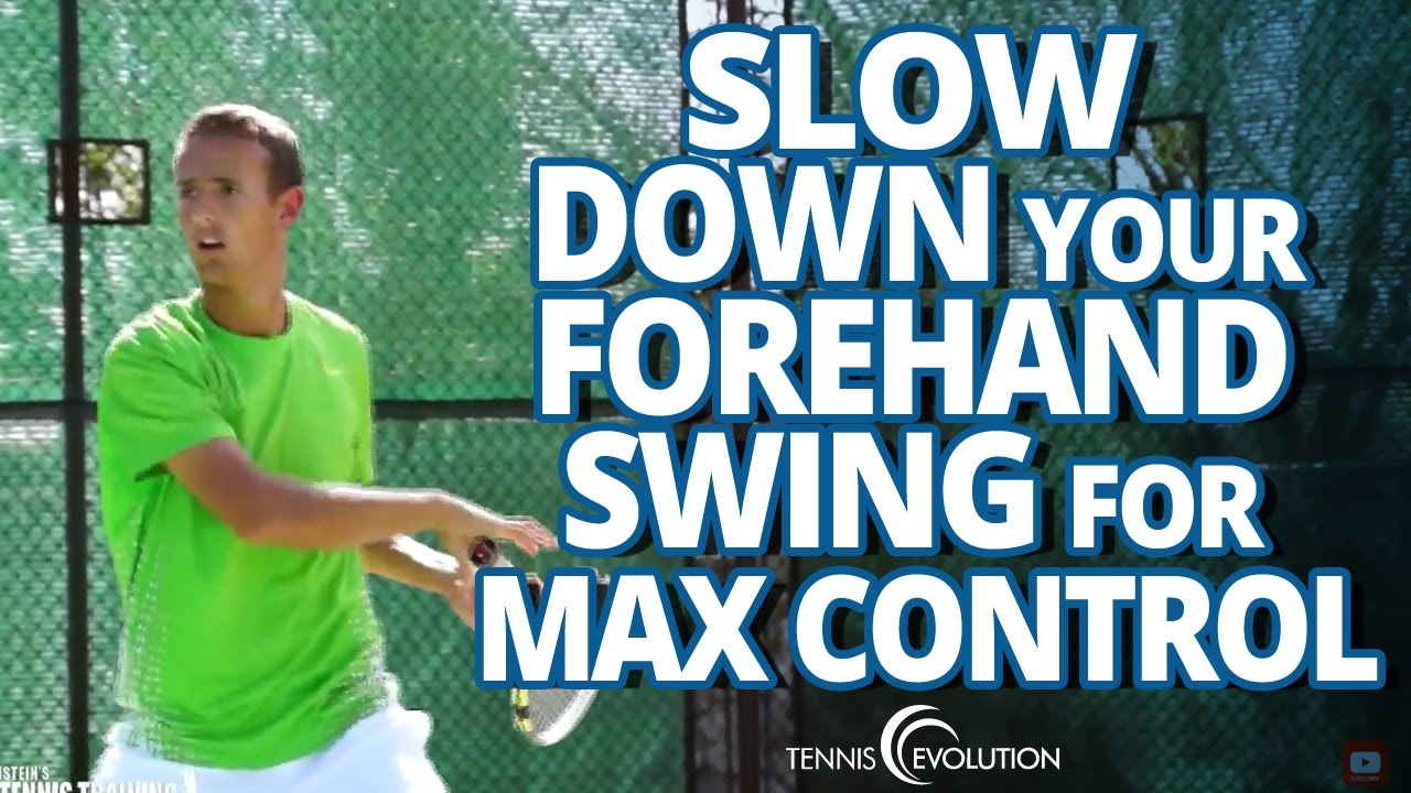 Tennis Forehand Groundstroke Topspin Tennis Forehand Topspin | How