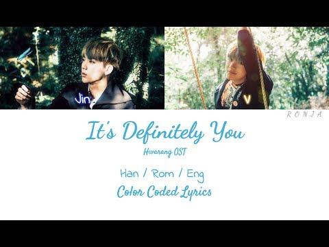 V & Jin - It's Definitely You [Color Coded Lyrics]