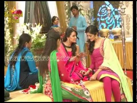 On Location Of Tv Serial 'yeh Hai Mohabattein' Shagun's Mehendi Ceremony  2 video