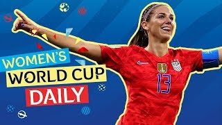 Morgan fires USA into Final | Womens World Cup Daily