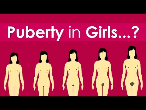What Are The Stages Of Puberty In Girls? video