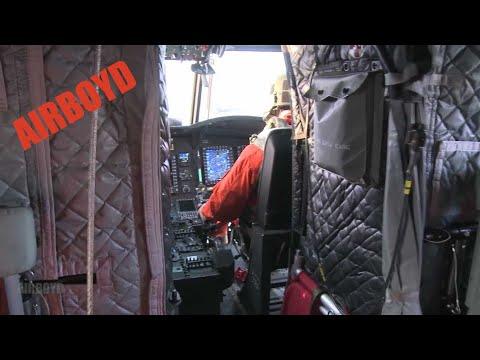 Chinooks Assist Kulluk Arctic Drilling Rig (2012)