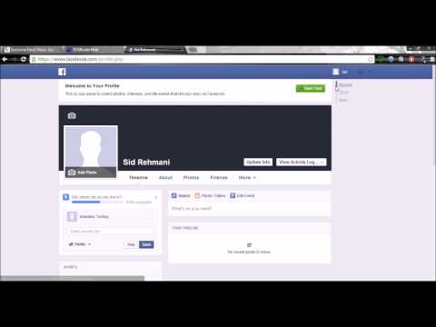 How to make Fake Facebook Account, Without Phone Number and email address in  minute.