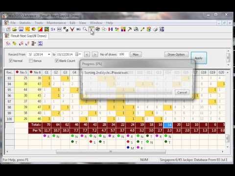 WinTOTO Video tips for 18 Dec 2014