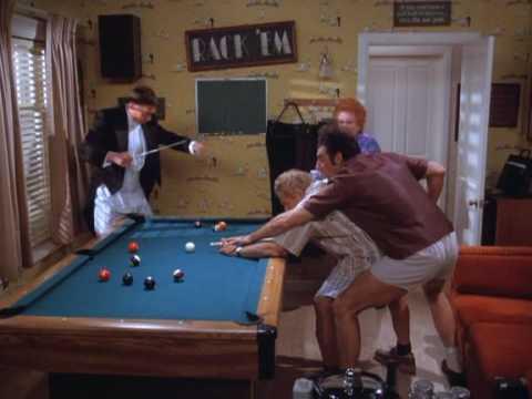 Kramer Playing Pool